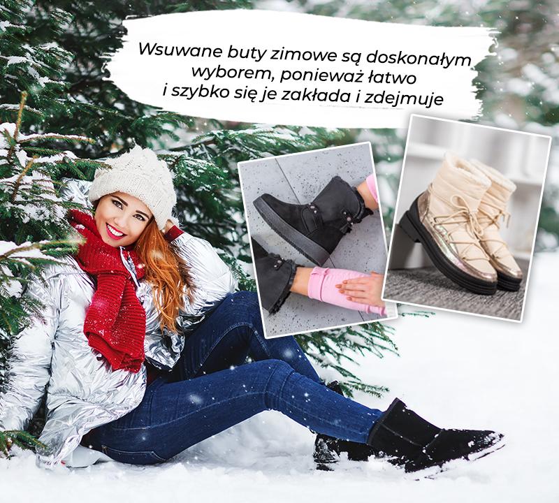 śniegowce modne i wygodne