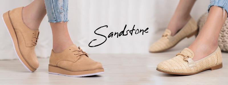Модные осенние туфли цвета песчаника