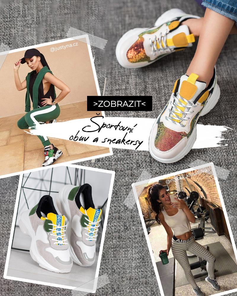 Sportovní obuv a sneakersy