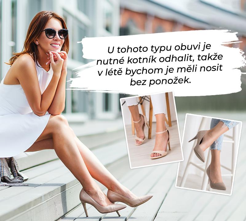 žena, která si zahřívá sportovní obuv se sušičkou, aby je protáhla a rozbila