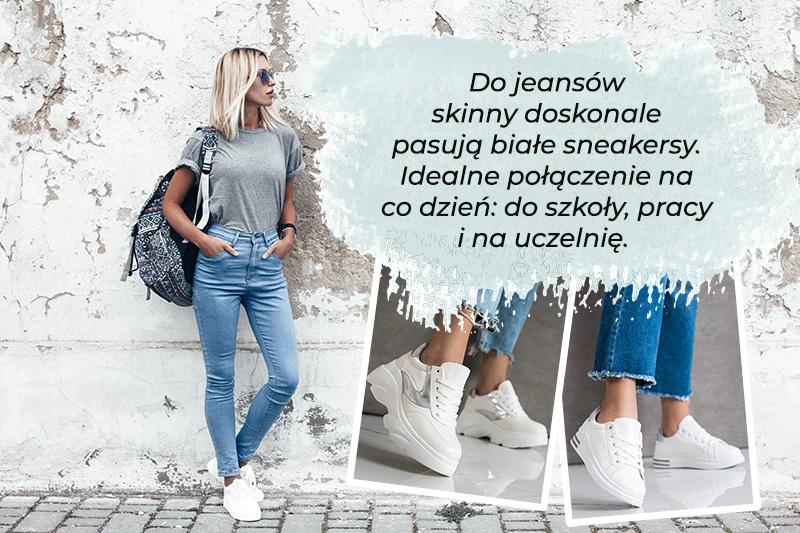 Jakie buty do dżinsów typu skinny