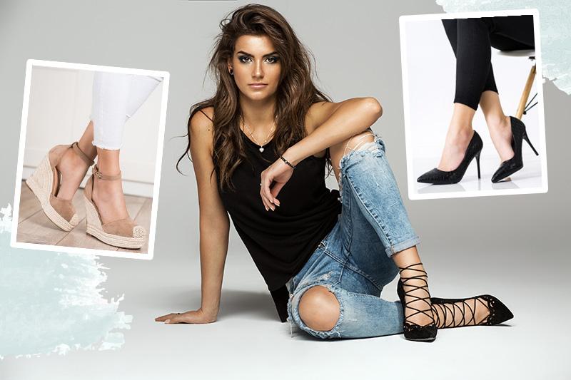 Jakie buty do dżinsów typu rurki