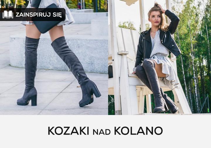 CzasNaButy.pl - ZAINSPIRUJ SIĘ: Kozaki nad kolano